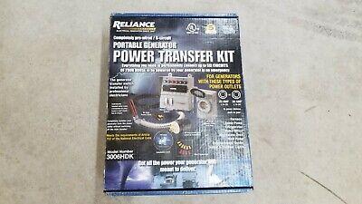 Reliance Controls 8000 Watt 6-circuit Generator Transfer Switch Model 3006hdk