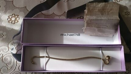 10 ct gold michael hill charm braclet ( pandora )  Forster Great Lakes Area Preview