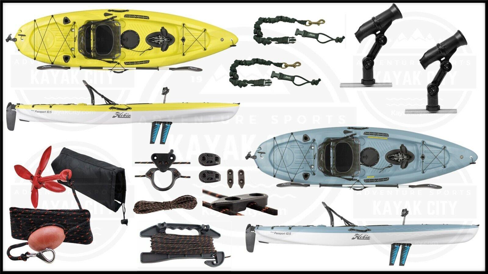 2019 Hobie Mirage Passport 10.5 - Pedal Fishing Kayak | Fish