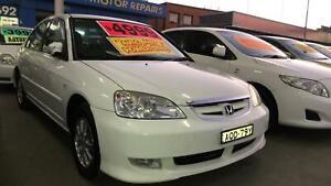 2004 Honda Civic GLi ! Fully Serviced & Inspected ! Auto ! Like New ! Granville Parramatta Area Preview