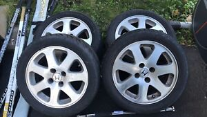 HONDA SIR ORIGINAL MAGS 15 inch AND TIRES