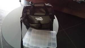 FISHING LURE BAG WITH 3 LURE BOXES Wynnum Brisbane South East Preview