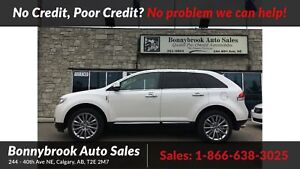2011 Lincoln MKX AWD leather p/sunroof navigation