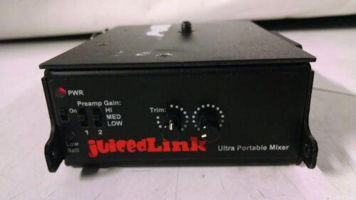 JuicedLink CX211  Dual-XLR Preamplifier  used