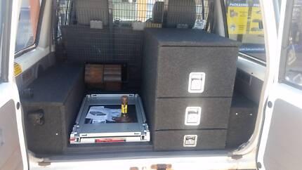 Custom made REAR DRAWS 100% West Australian made all SUVS