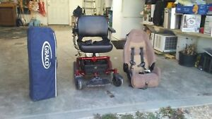 Electric wheelchair. Baby items