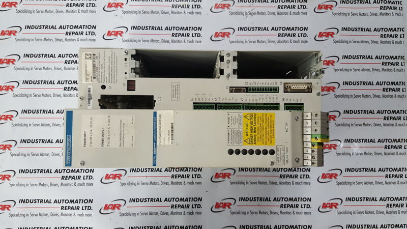 INDRAMAT SERVO DRIVE(WITH INTEGRATED POWER SUPPLY) DKS01.2-W100A-DL01-01-FW