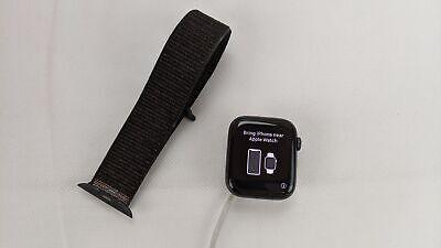 Apple Watch Series 4 A1978, GPS, 44mm Space Grey, Black Nylon Band/Strap