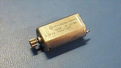 Mini Mute Metal Brush Motor Car Ff-050sh-09250 Voltage 5.0-11.5v High Speed