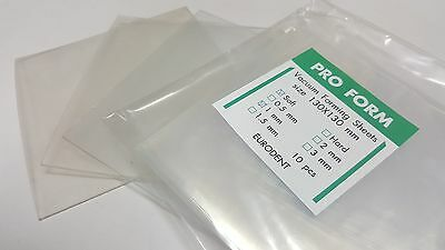 Dental Lab Vacuum Forming Thermoforming Sheets Soft 1 Mm 10 Israel Made Proform