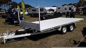 2 TONNE FLAT DECK TRAILER Adelaide CBD Adelaide City Preview