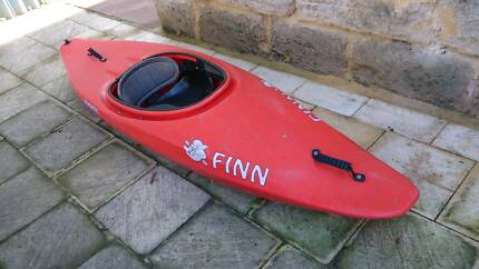 Finnatic Slalom Trainer / whitewater & surf kayak White Gum Valley Fremantle Area Preview