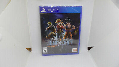 New Jump Force (Sony PlayStation 4, 2019) PS4
