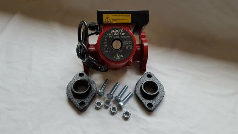 """3 speed Circulating Pump 20 GPM With 1"""" Cast Flange Set"""