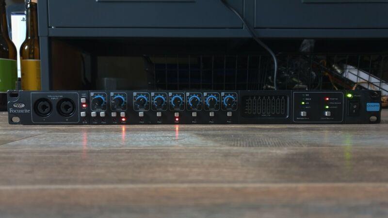 Focusrite OctoPre MkII 8 Channel Microphone Preamp