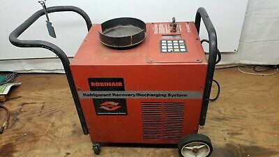 Robinair 17600a Refrigerant Recovery And Recharge System