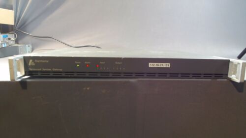 Harmonic Narrowcast Services Gateway NSG8204-0G-00-08-1