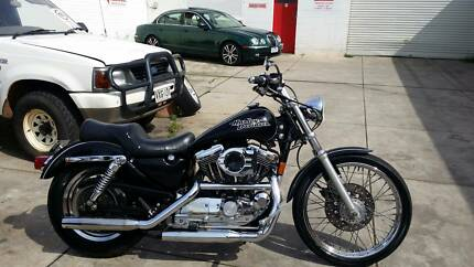 HARLEY DAVIDSON SPORTSTER 1200 CUSTOM WITH NICE MODS Hendon Charles Sturt Area Preview