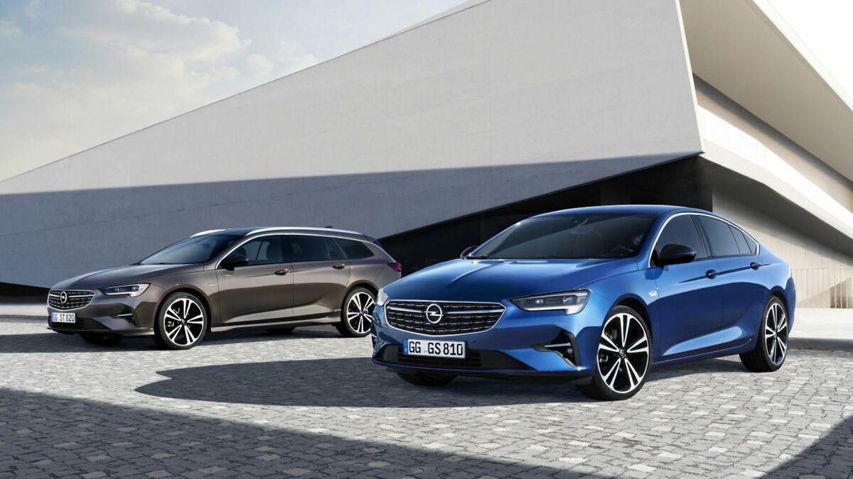 Opel Insignia B Facelift (2020): Bilder, Motoren, Matrix ...