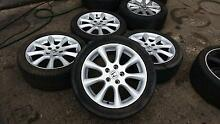 2007 Honda Accord Euro Alloy wheels with road worthy tyres Sunshine Brimbank Area Preview