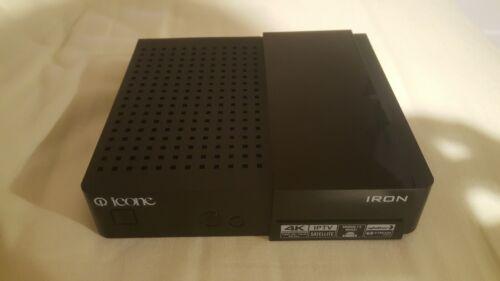 Démodulateur récepteur satellite iptv 4K Icone Iron