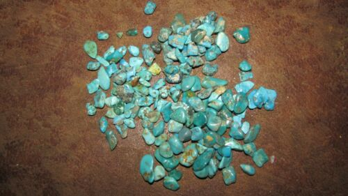 Sleeping Beauty Morenci Turquoise Rough LOT Old Stock  144 Grams Mixed
