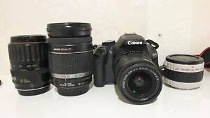 Canon Eos 600d 18MP Digital Camera and EF, EFS LENSES. South Yarra Stonnington Area Preview