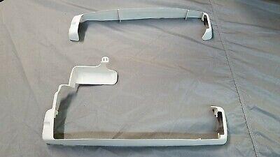 1990 Cadillac Eldorado Driver Seat Base Trim 2 pieces 20675366, 20675363