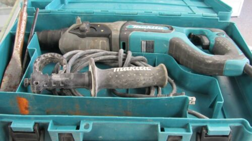 Makita HR2475 Combination Hammer Drill With Case EXCELLENT  COND  QIK SHIP