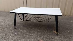 Vintage Retro 'Stuart and Waller' coffee table - great black and Little Bay Eastern Suburbs Preview