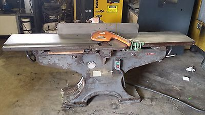 Crescentrockwell 12 Jointer 3hp 3 Phase. Works Great Will Palletize And Ship