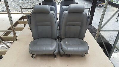 Range rover p38 leather seats