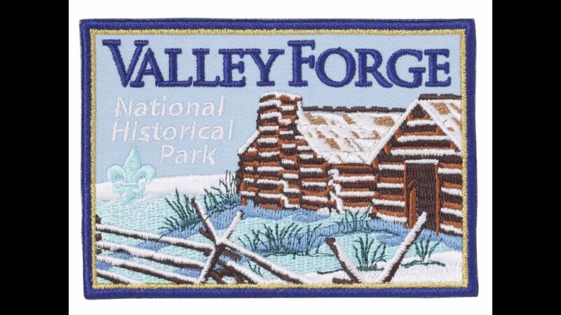BOY SCOUT LICENSED VALLEY FORGE NATIONAL HISTORIC PARK JACKET PATCH JAMBO TRADER