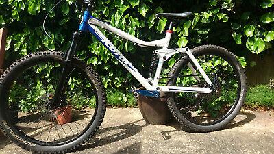 KONA Dawg Deluxe 140 - size 18 - Full suspension mountain bike.