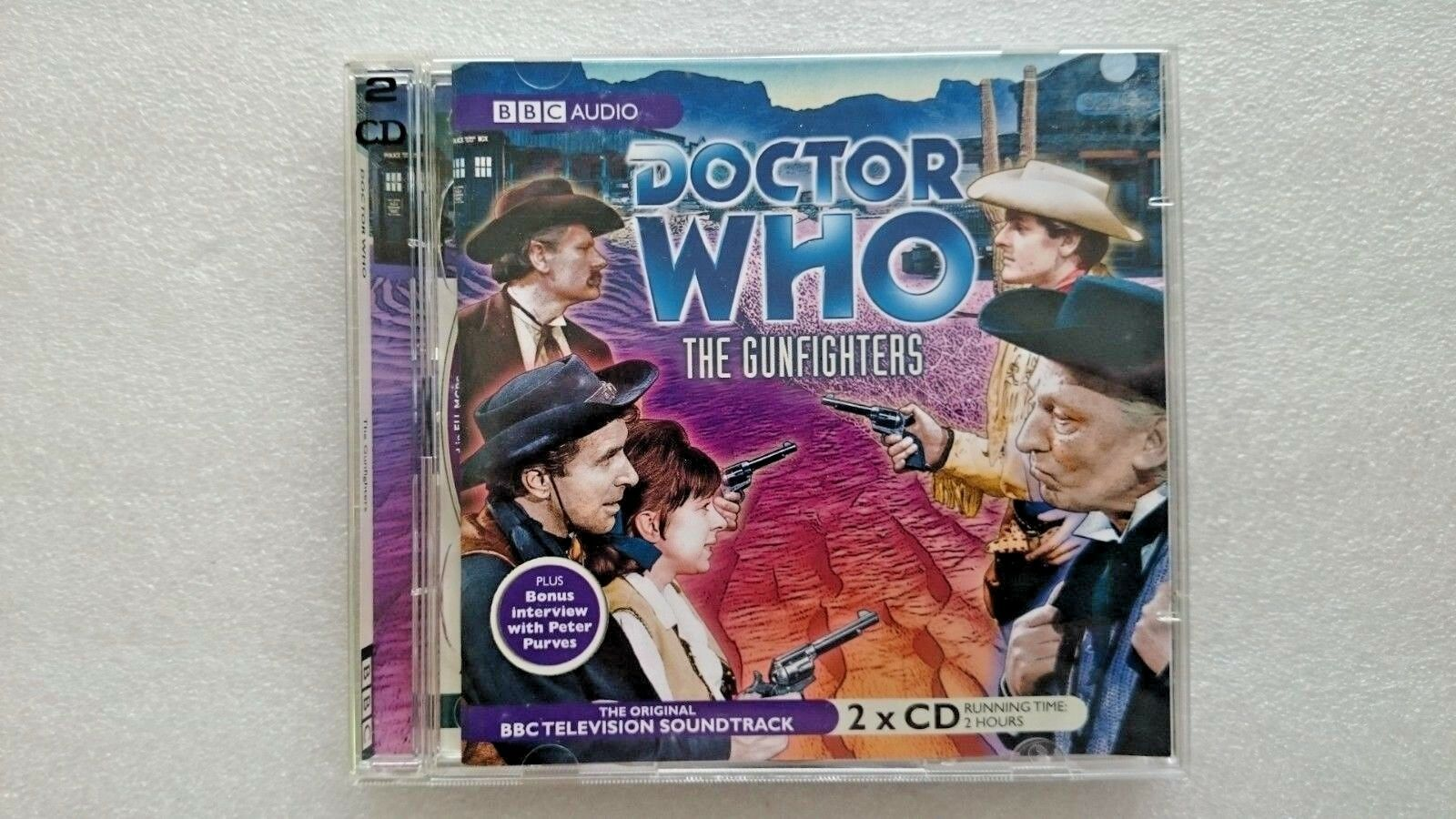 Doctor Who, the Gunfighters by Donald Cotton (CD-Audio, 2007) - William Hartnell