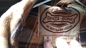 Driza-bone long riding coat size 6 Clifton Springs Outer Geelong Preview