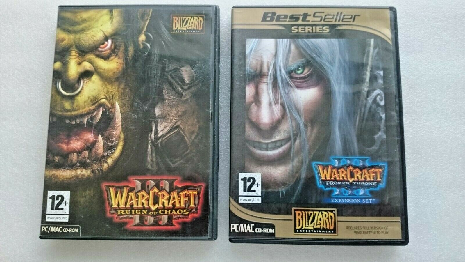 WarCraft III: Plus The Frozen Throne Collection (Expansion Pack) (PC: Mac, 2003)