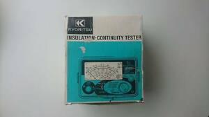 Kyoritsu 3132A Insulation-Continuity Tester Nairne Mount Barker Area Preview