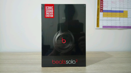Beats Solo 2 Wired Black (NEW)