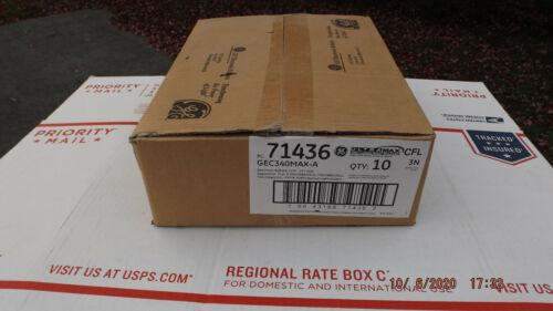 Box Of (10) GE 71436 GEC340MAX-A CFL 120-277V 2 OR 3 LAMP PL-L 40 BALLAST