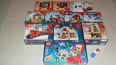Choice LEGO New Sealed Limited Edition Christmas Holiday Sets 40139 40138 40293