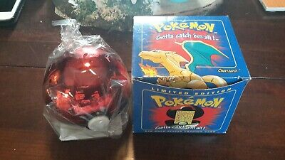 Charizard Blue Burger King Pokemon Poke Ball Sealed