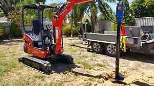 Streetsmart Excavating (Digger/Auger/Mini/Excavator) Forrestfield Kalamunda Area Preview