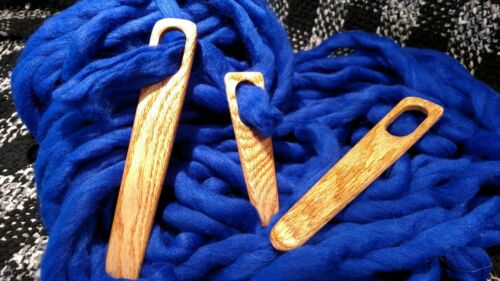 Weaving Needles (Set of 3) Tapestry&Rigid Looms,Weaving Frames,Nalbinding,yarns