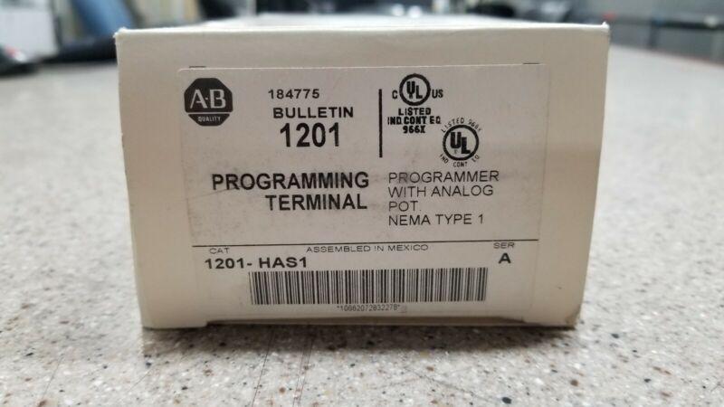 Allen Bradley 1201-HAS1 Series A Programming Terminal New In Box
