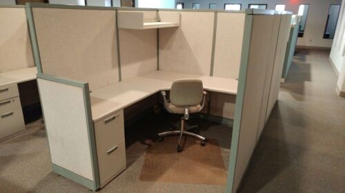 Used Office Cubicles, Steelcase Avenir 5.5x6.5 Cubicles