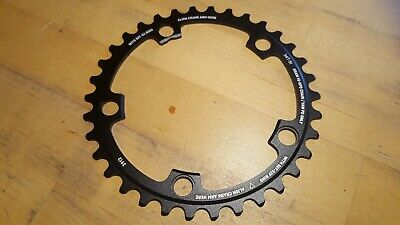 SRAM Chainring 34T Red/Force/Rival/Apex 110mm Compact Black Ring