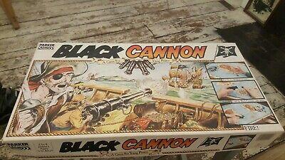BLack CANNON  A PARKER PIRATE BOARD GAME RETRO Black Pirate Board Game