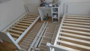 White Bunk Beds in good condition