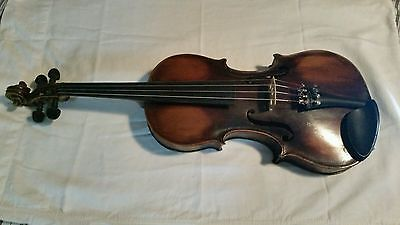 Antique Handmade 1918 JB Howell 4/4 Violin, bow & case